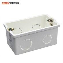 Распределительная коробка стандарт США/Австралии электрическая Монтажная коробка Прямоугольник Удобная коробка тайный запас трубопровод подвесной переключатель ПВХ коробка