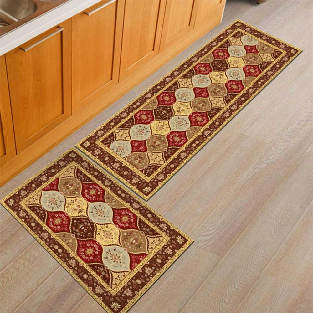 Washable Kitchen Mats with Anti Slip Bottom for Kitchen and Hallway Entrance Floor 36