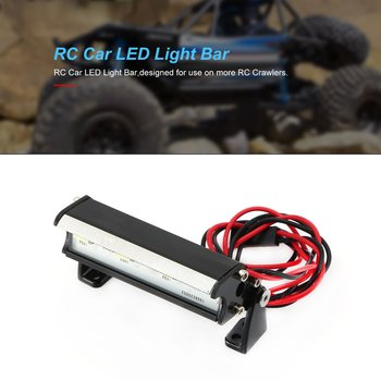 RC Car LED Light Bar for Traxxas Traxxas 1/16 Teton/Summit/E-Revo Redcat RC Rock Crawler Truck Body Shell Roof Lights image
