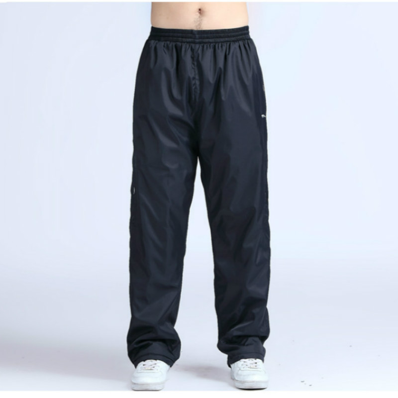 2020 New Fertilizer To Increase The Large Yards Loose Straight Pants Casual Pants Spring Trousers Nutty Breathable Mesh Liningg
