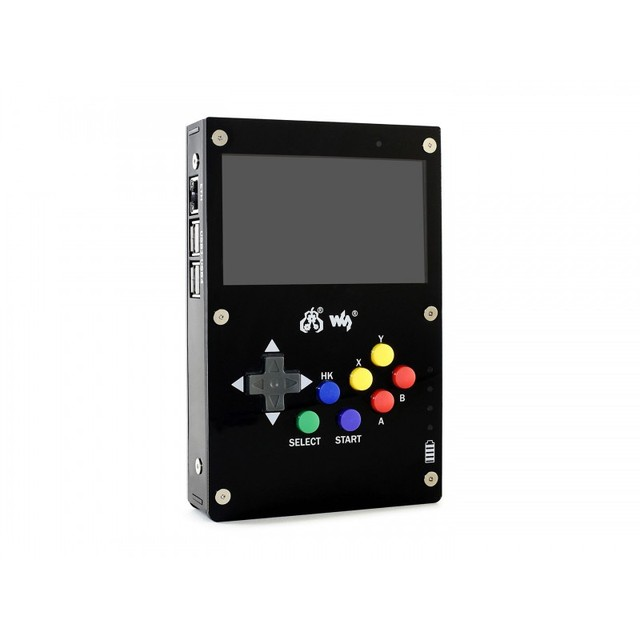 GamePi43 Add ons for Raspberry Pi 4 to Build GamePi43 Raspberry Pi Game Pad Handheld Game Hat with 4.3inch IPS Display