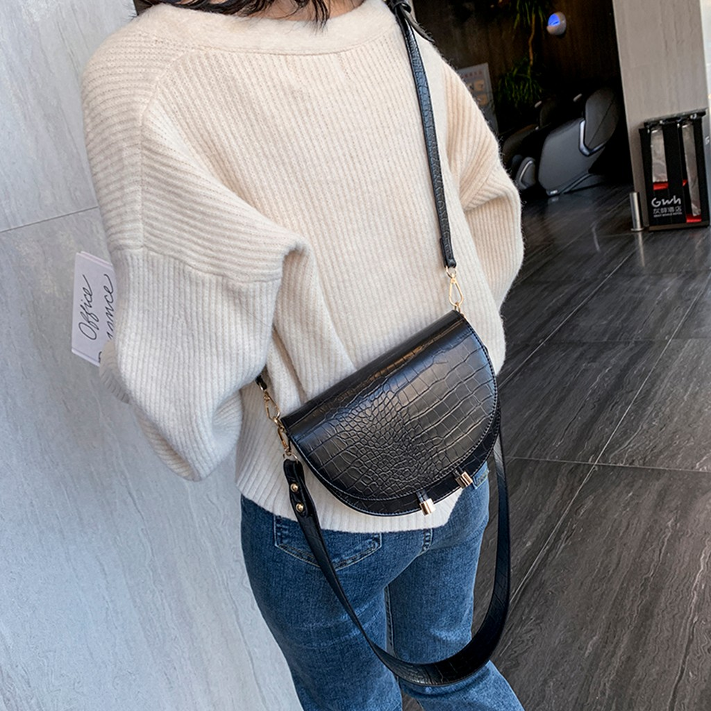 Fashion Bags Handbag Bolsa Messenger-Bag Satchel Shoulder Wild Plush Casual Simple Feminina title=