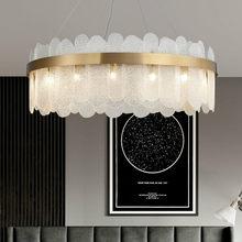 Sala de estar placa luxo ouro metal ajustável led pingente luzes cinza/branco vidro led luminária luminarias lâmpada pendurada