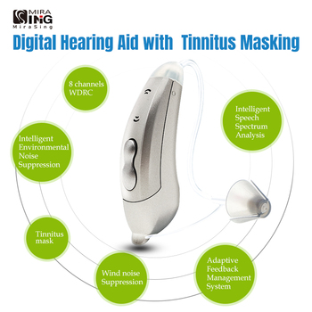 2020 tinnitus mask 8-Channel Digital Hearing Aid audifonos Sound Amplifers Ear Aids for Elderly Moderate hearing amplifier hearing aids for elderly best hearing aid sound voice amplifier sound bte deaf hearing care digital aids ear care my 26