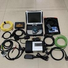3in1 для BMW Icom MB Star C5 A. udi V.W дополнительных услуг 5054A OKI odis5.1.3 с программным обеспечением в 2 ТБ HDD б/у ноутбук i5 CF-19 для диагностики авто