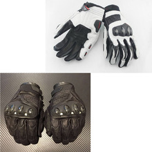 Motorcycle Racing Gloves Full Finger Dain Riding short grade leather gloves motos