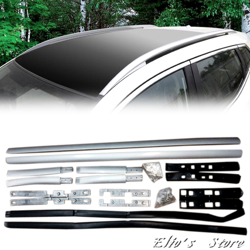 Car Styling Roof Rack Side Rails Bars Exterior Accessories For Nissan Qashqai J11 2014 2015 2016 2017 2018