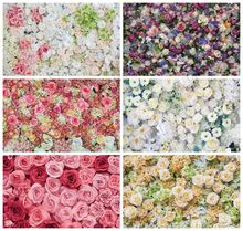 Виниловый фон для фотосъемки с изображением весеннего цветка
