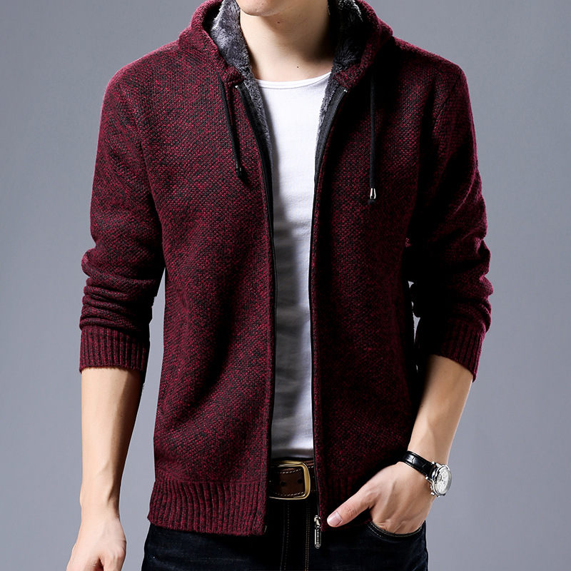 Flash Sale Fgkks Brand Men Knitting Sweaters Coat Casual