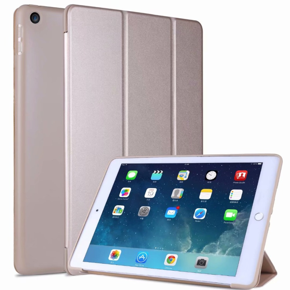 Slim TPU Ipad Case iPad Cover 10 Tri-fold 10.2 2 light Soft For For Smart Case Tablet