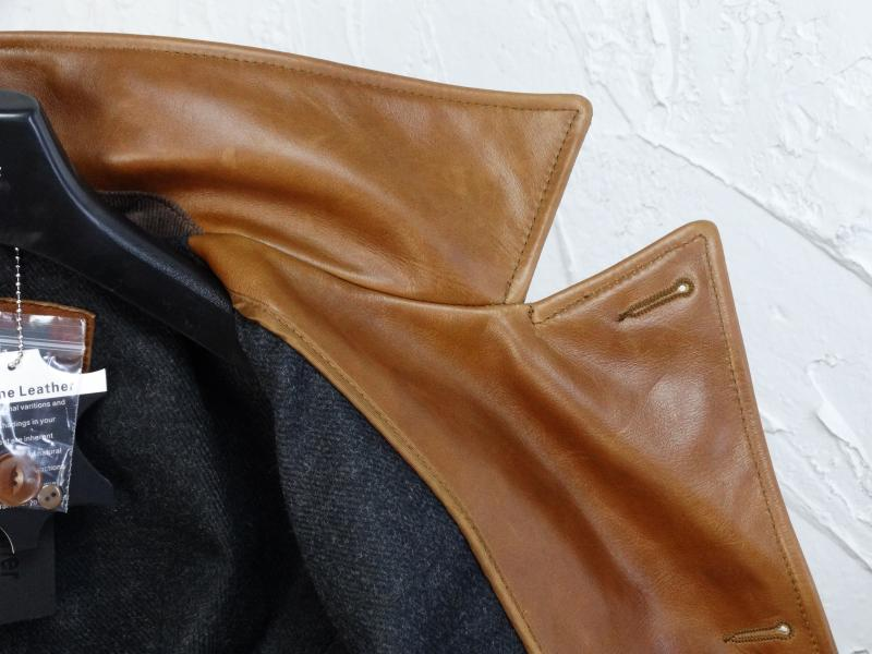 H4870ab38931d4569886771c609259585X YR!Free shipping.Italy Oil Wax Cowhide coat.Helix Rider genuine leather jacket,winter men vintage brown leather jacket.sales
