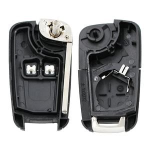 Пустой чехол для дистанционного ключа с 2 кнопками чехол для Opel Astra J Mokka Insignia Adam Astra J каскад Карл Зафира C HU100 необработанный