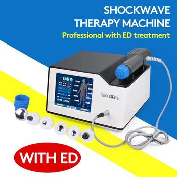 Portable Shock Wave Physiotherapy Equipment Therapy Machine ED Treatment Pain Relief Shockwave Therapy Machine
