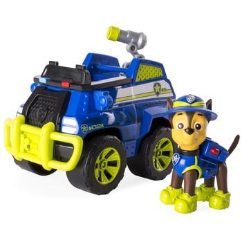 Paw Patrol Toy Puppy Patrol Jungle Rescue Vehicle Tracker Chase Skye Marshall Action Figure Model Patrulla canina Kids Gift цена 2017