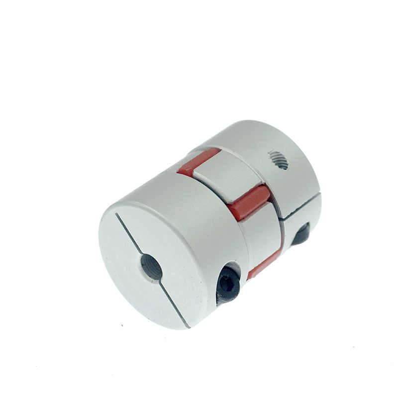 tama/ño : 5mmx5mm 6,35 mm 8 mm 1pc Flexible Acoplador D25XL30 aleaci/ón de aluminio de 5 mm 12 mm 25x30 for el motor de eje de enrollamiento de sujeci/ón tornillo de acoplamiento 10 mm 6 mm