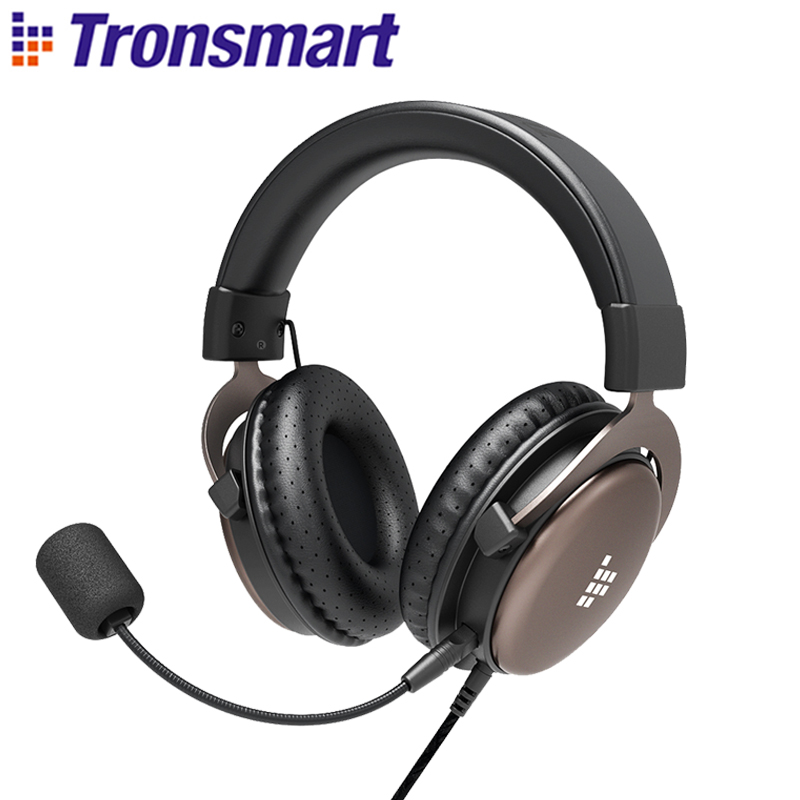 Tronsmart Sono Gaming Headphones Headset Gamer Wired Headphones for computer with Mic for PS4,Xbox One,Switch and Mobile Devices(China)
