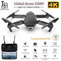 GD89 Drone Global Drone Met Hd Antenne Video Camera 4 K Rc Drones Rc Helicopter Fpv Quadrocopter Dron Opvouwbare Speelgoed drone E58