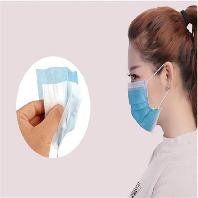 50Pcs/Pack Disposable mask Flu Hygiene Face Mask3-Layer Non-woven Disposable Elastic Mouth Soft Breathable as  KF94