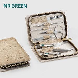 Image 4 - MR.GREEN 8 w jednym zestaw do pielęgnacji zestaw obcinaków do paznokci toe finger zestaw nożyczek ze stalowymi ćwiekami nożyce nożyczki narzędzia do manicure