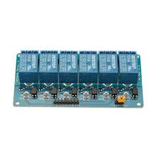 6 채널 3.3V 릴레이 모듈 옵토 커플러 절연 액티브 로우 BESTEP Arduino 용