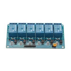 Image 1 - Módulo optoacoplador de relé de 6 canales, 3,3 V, aislamiento activo bajo paso para Arduino