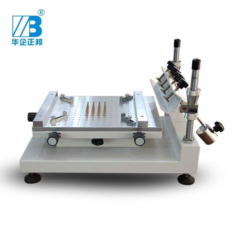 Manual High Precision Screen Printing ZB3040H PCB Stencil Printer