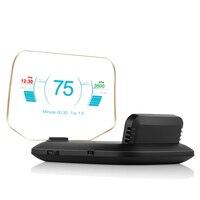 Newest Head Up Display OBD Car Electronics HUD Display Car Speedometers C1 Overspeed Warning OBD2+GPS Dual Mode GPS Speedometer