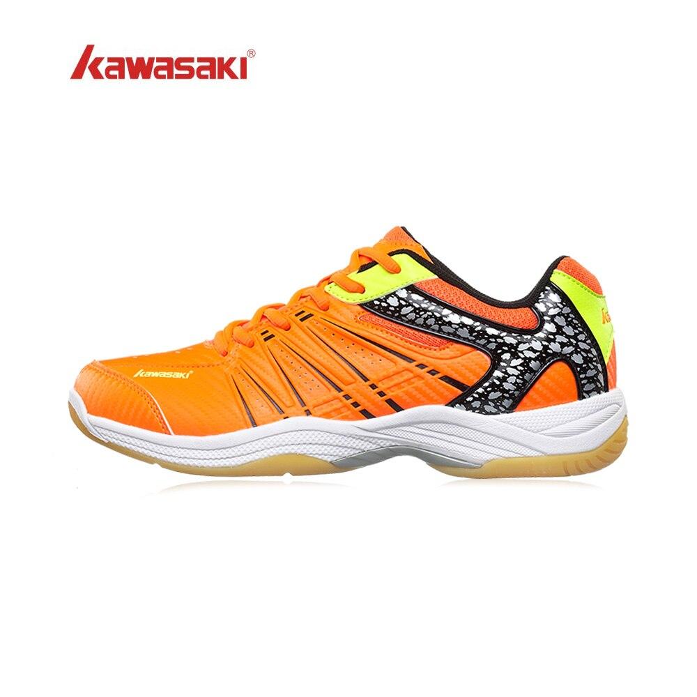 Kawasaki-zapatos De Bádminton Originales Para Hombre Y Mujer, Zapatillas Deportivas De Entrenamiento De Bádminton, Serie Whirlwind