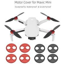 4 stücke Aluminium Legierung Motor Schutzhülle für DJI Mavic Mini Drone Motor Abdeckungen Staub-proof Anti-Scratch schutz Zubehör