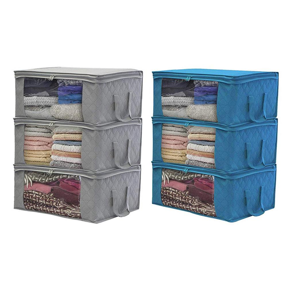 Foldable Storage Bag Organizers Great for Clothes Blankets Closets Bedrooms Q9QF|Drawer Organizers| |  - title=