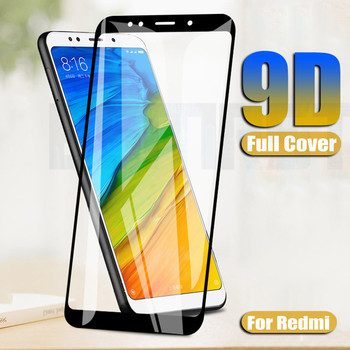 9D Screen Protector Glass On The Redmi 5 Plus 5A 4A 4X 6 6A For Xiaomi Redmi Note 4 4X 5 5A Pro Tempered Glass Safety Film Case