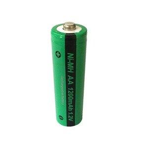Image 4 - 16x NiMH AA 충전식 배터리 PKCELL 1200mAh 1.2V Ni MH 산업용 배터리 Bateria button Top