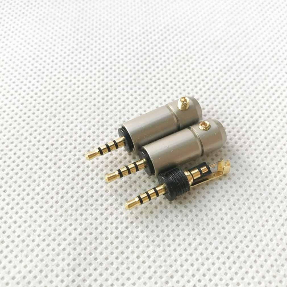 سماعة الصوت كابل الصوت والفيديو موصل البسيطة 2.5 أربع مراحل الكوع البسيطة 2.5 مستوى أربعة المتكاملة 4 مللي متر فتحة