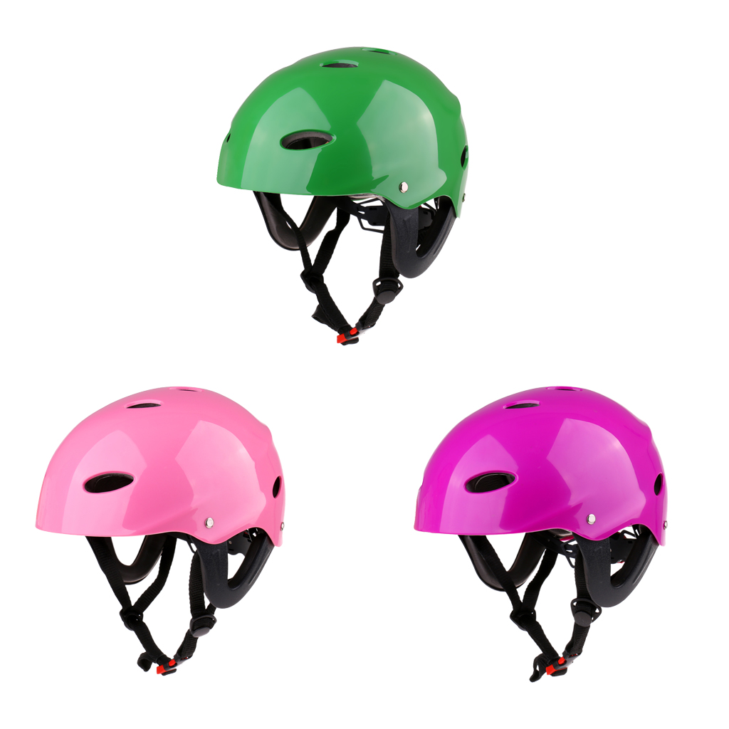Compact Vent Safety Helmet & Ear Protectors For Multi Sports Kayak SUP Skate Water Sports Safety Helmet For Water Sports