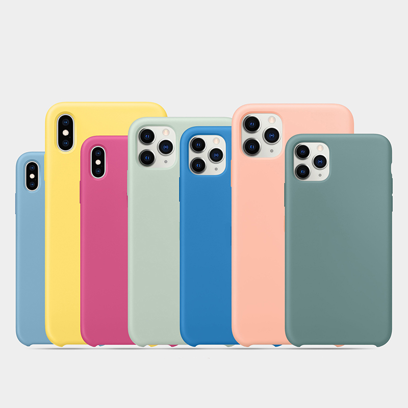 Original-with-logo-Silicone-Case-for-iPhone-11-Pro-Xs-Max-iPhone-SE-2020-XR-X (4)