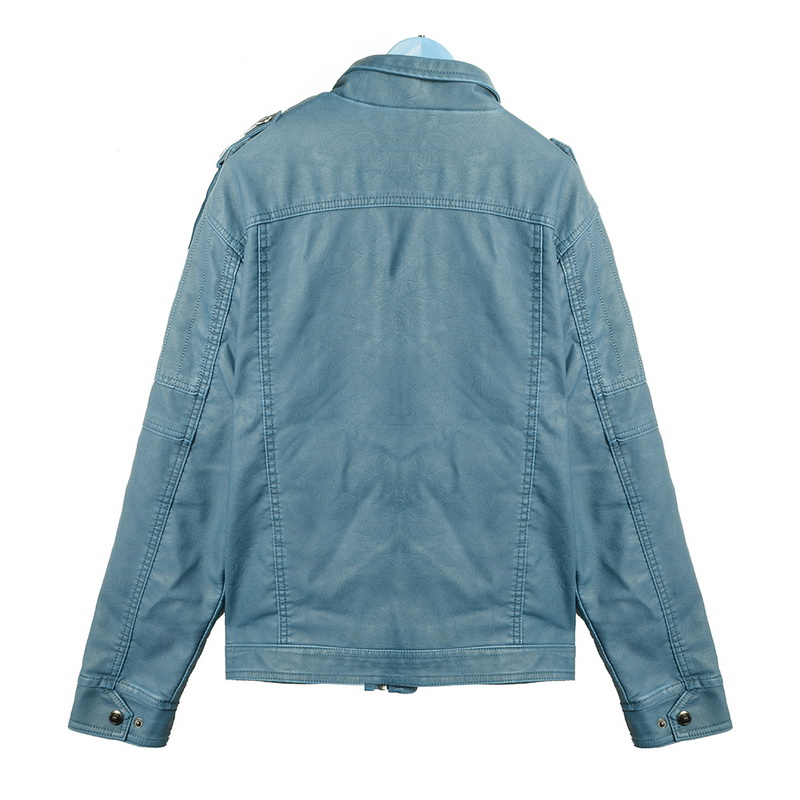 H48727d8807724399acb92a90d6134da6d Luxury 2019 Leather Jackets Men Autumn Fleece Zipper Chaqueta Cuero Hombre Pockets Moto Jaqueta Masculino Couro Slim Warm Coat