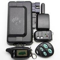 Russia Version TW9030 Two Way Car Alarm System with LCD Remote Engine Start 2-way Car Alarm TW9030 Car Alarm