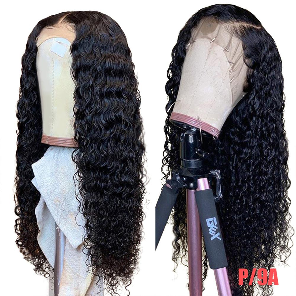 Deep Wave Wig Frontal Lace Front Human Hair Wigs Brazilian Remy 180 Lace Front Wig 30 Inch 13x4 13x6 360 Deep Wave Frontal Wig