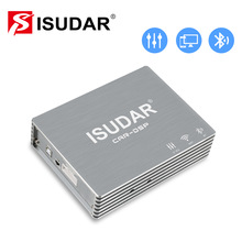Isudar Auto Dsp Versterker Auto Audio Digital Sound Processor 700W Max Bluetooth 5.0 31 Band Eq Positie Frequentie Divisie filter