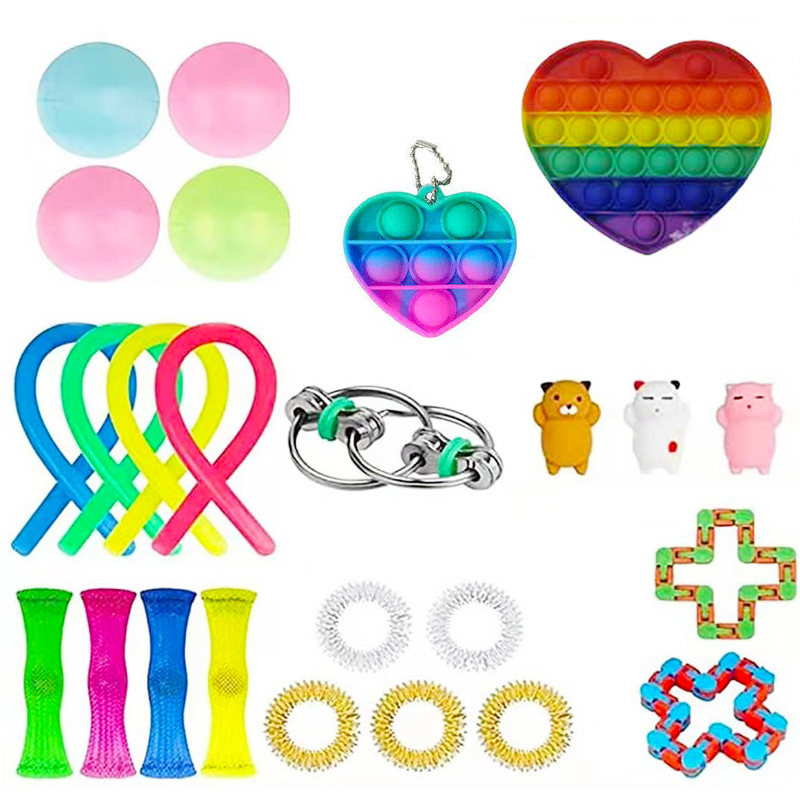 Toys-Set Toy-Pack Fidget Marble Msxf It-Box-Strings Gift Relief Anti-Stress Adults Children img3