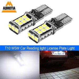 100x T10 светодиодный CANBUS автомобильный светильник, Лампа 194 W5W светодиодный 3030 SMD 501 авто поворотный боковой номерной знак, светильник, маркер, в...