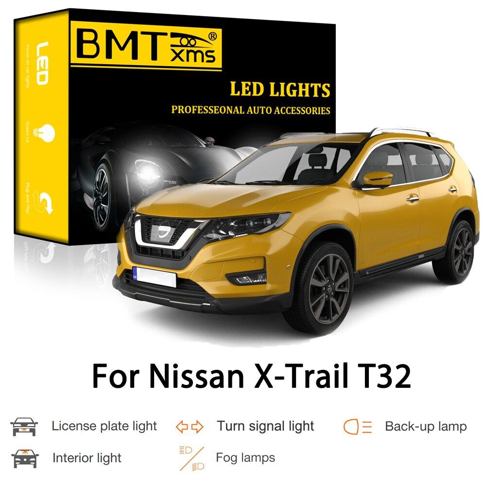 BMTxms Canbus Für Nissan X-Trail XTrail T32 2014-2020 Auto LED Exterior Innenausbau Parkplatz Blinker Reverse bremse Licht Nebel Lampe