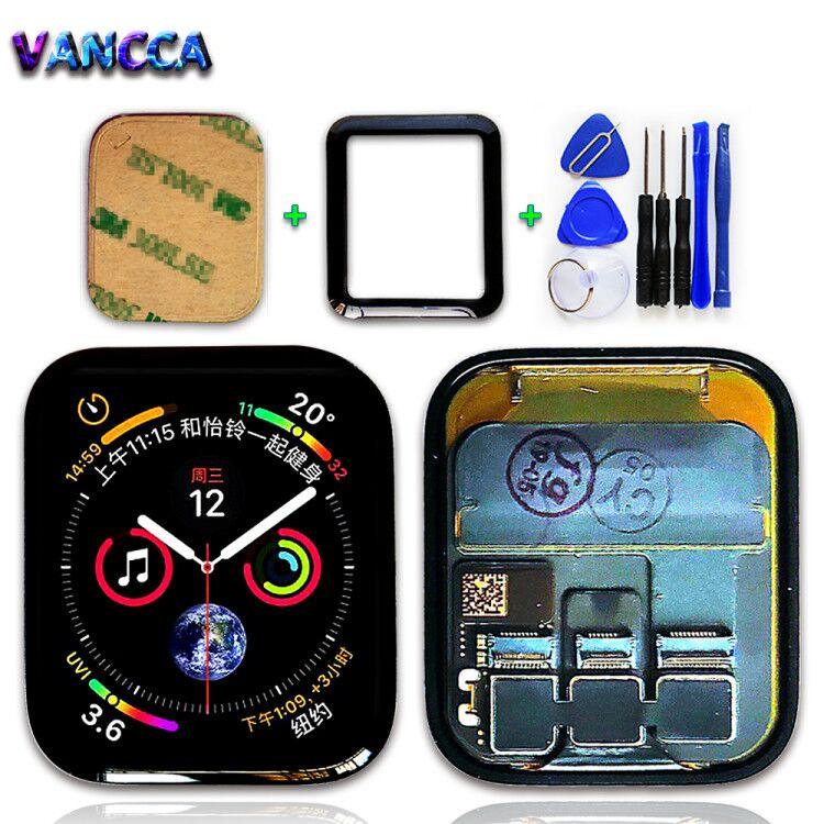 44MM LTE/GPS wyświetlacz LCD do zegarka Apple Watch 4 448*368 ekran dotykowy Digitizer zgromadzenie seria 4 40mm części zamienne z narzędzie w Ekrany LCD do tel. komórkowych od Telefony komórkowe i telekomunikacja na AliExpress - 11.11_Double 11Singles' Day 1