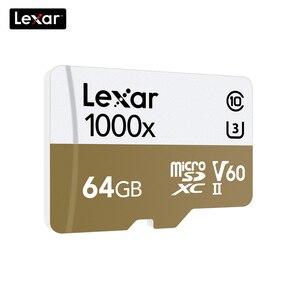 Image 3 - 100% Lexar dorigine 150 mo/s 1000x Micro SD classe 10 64 go micro SDXC tf lecteur de carte mémoire UHS pour Drone Sport caméscope