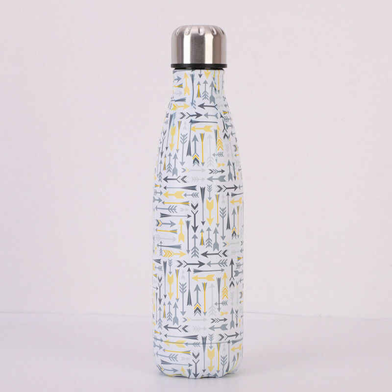 Faroot عالية الجودة الفولاذ المقاوم للصدأ فريد مزدوجة الجدار فراغ معزول زجاجة الماء قارورة الحرارية الرياضية بارد 500 مللي