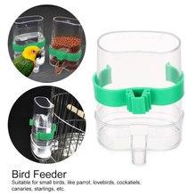 Клетка для домашних птиц автоматический чайник feederCan магазин воды кормушка для птиц подача воды пищи автопоилка попугай дозатор для домашних животных клетка