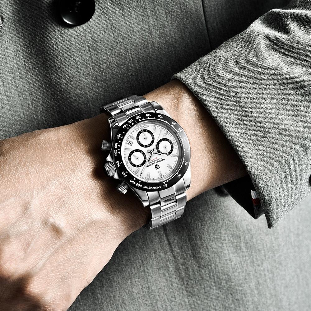 PAGANI DESIGN 2020 New Men's Watches Quartz Business watch Mens Watches Top Brand Luxury Watch Men Daytona Chronograph Relogio Masculino free drop shipping (24)