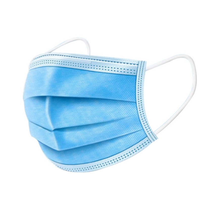 50pcs Face Mouth Anti Dust Mask Disposable Protect 3 Layers Filter Dustproof Earloop Non Woven Mouth Masks