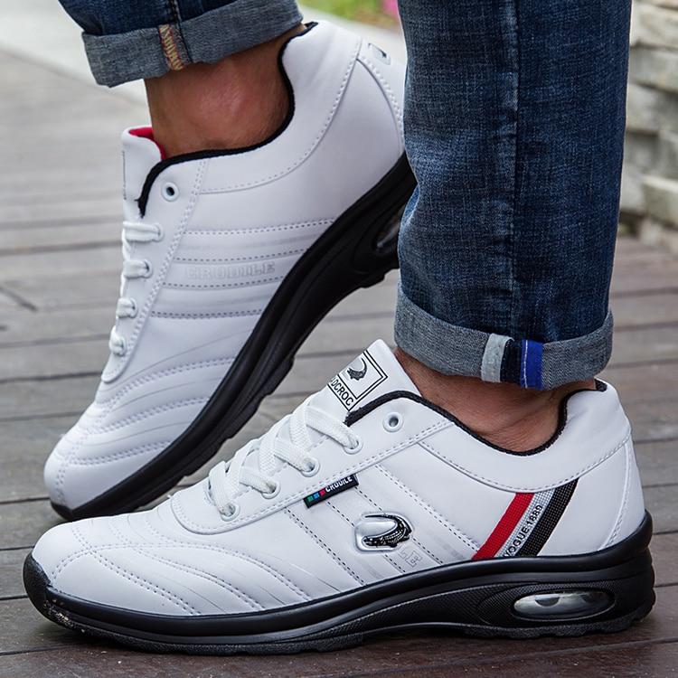 esporte tênis desgastar-resistente rendas até homem calçado