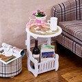Прикроватный столик резной полый маленький шкаф для спальни Новая модная маленькая прикроватная сборка трехмерный круглый стол